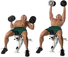 dumbbell-incline-chest-press