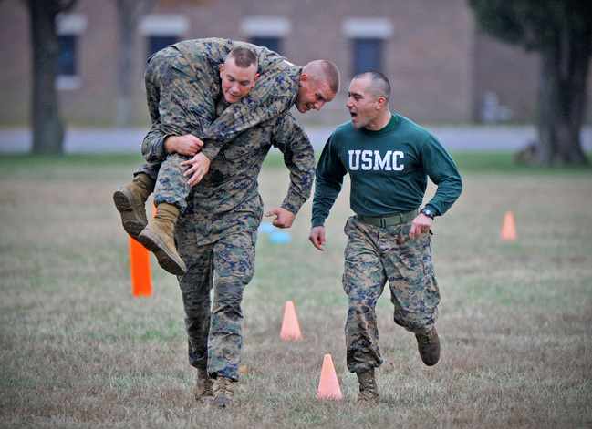 2017 update how to score the marine corps combat fitness test